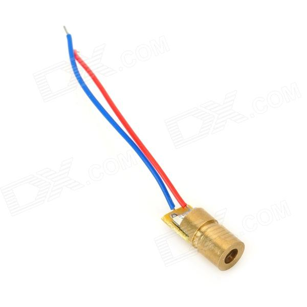 3V 6mm 5mW 650nm punainen Laserdiodi - Golden