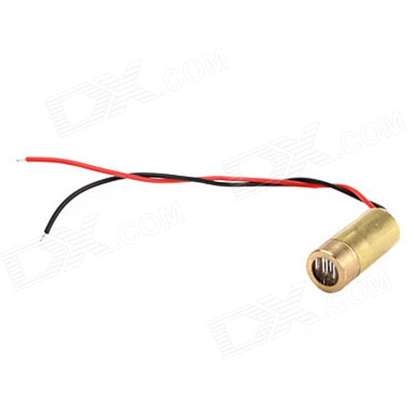 10050110W 50mW 650nm Red Light Laserdiodi - Golden (3V)