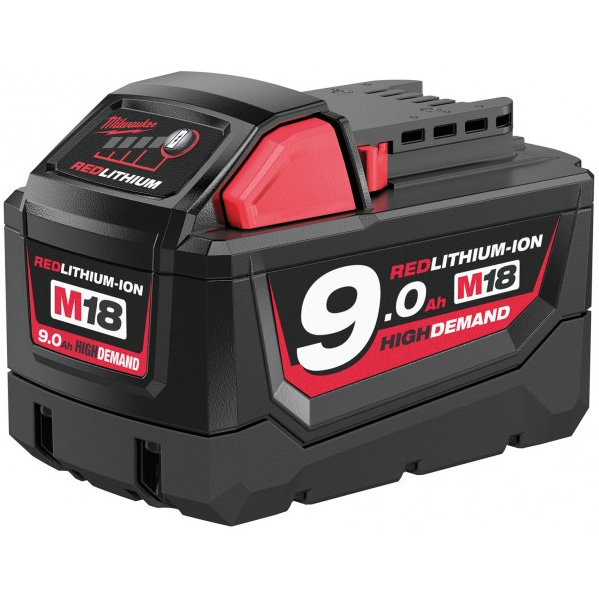 Milwaukee M18 B9 18V Litiumioniakku 9,0Ah